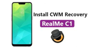 Install CWM Recovery On RealMe C1