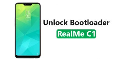 Unlock Bootloader Of RealMe C1