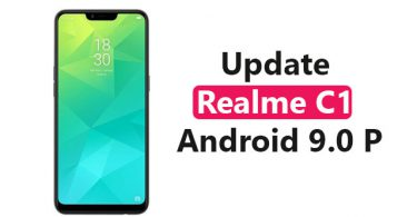 Update Realme C1 To Android 9.0 P