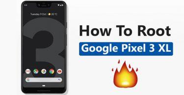 Root Google Pixel 3 XL