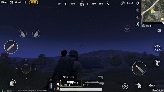 Night Mode in pubg mobile