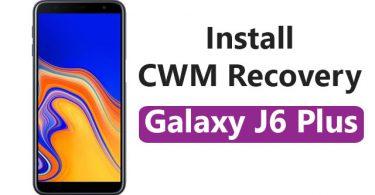 Install CWM Recovery On Samsung Galaxy J6 Plus