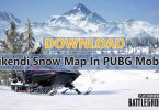 Download Vikendi Snow Map In PUBG Mobile