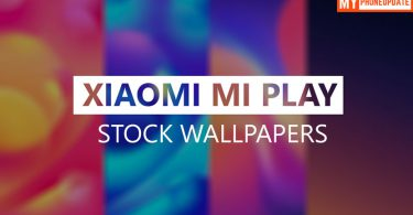 Download Xiaomi Mi Play Stock Wallpapers