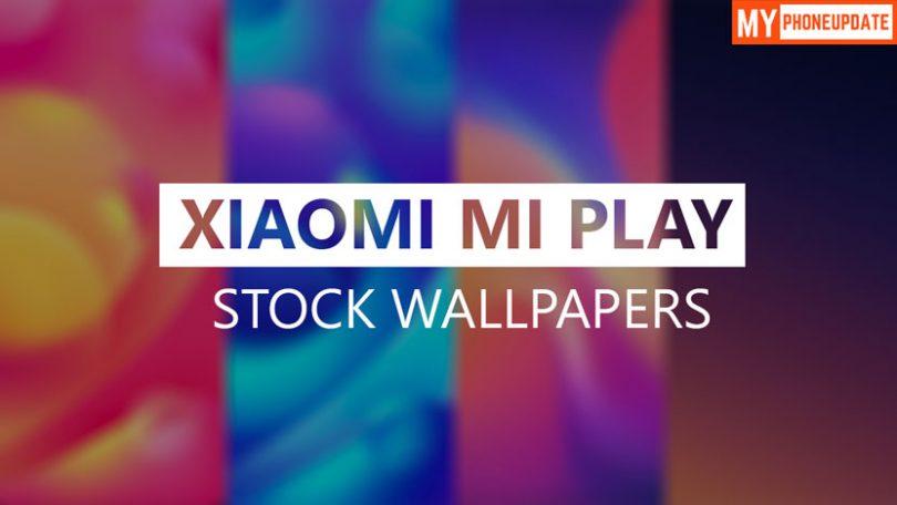 Download Xiaomi Mi Play Stock Wallpapers