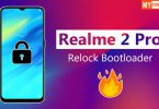 Official Method Relock Bootloader Of Realme 2 Pro