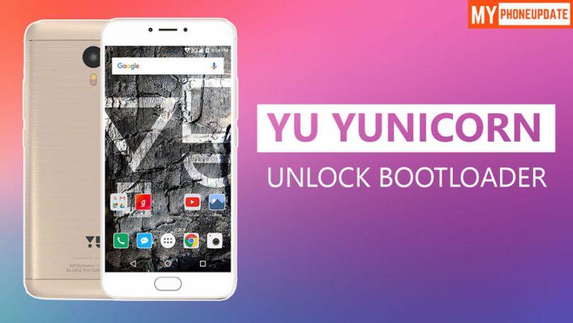 How To Unlock Bootloader Of YU Yunicorn