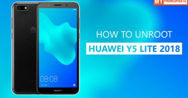 How To Unroot Huawei Y5 Lite 2018