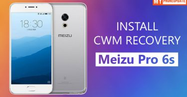 Install CWM Recovery On Meizu Pro 6s