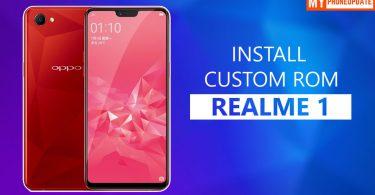 Install Custom ROM On Realme 1
