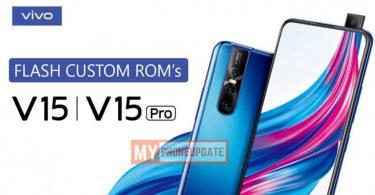 Install Custom ROM On Vivo V15 Pro