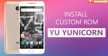 Install Custom ROM On YU Yunicorn