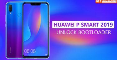 Unlock Bootloader Of Huawei P Smart 2019