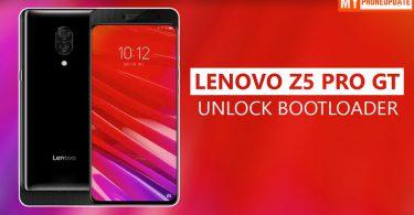 Unlock Bootloader Of Lenovo Z5 Pro GT