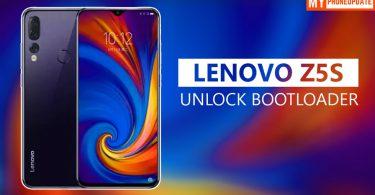 Unlock Bootloader Of Lenovo Z5s