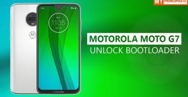 Unlock Bootloader Of Motorola Moto G7