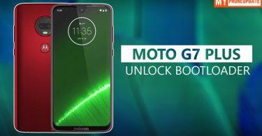 Unlock Bootloader Of Motorola Moto G7 Plus