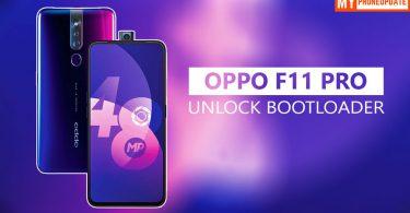 Unlock Bootloader Of Oppo F11 Pro