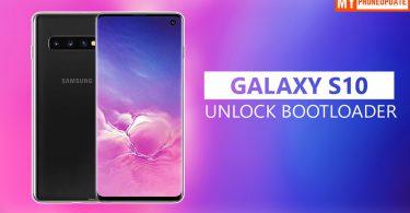 Unlock Bootloader Of Samsung Galaxy S10