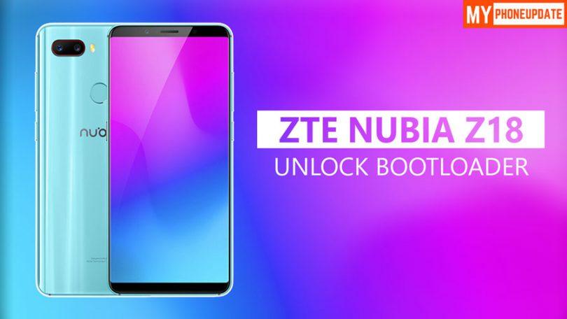 Unlock Bootloader Of ZTE Nubia Z18