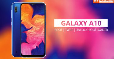 How To Root Samsung Galaxy A10