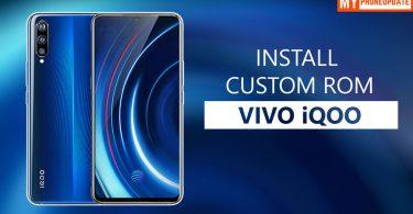 Install Custom ROM On Vivo iQOO