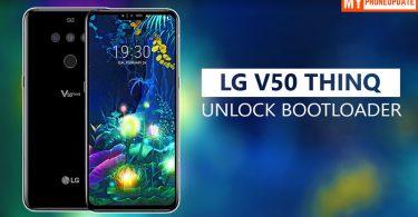 Unlock Bootloader Of LG V50 ThinQ