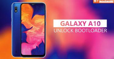 Unlock Bootloader Of Samsung Galaxy A10