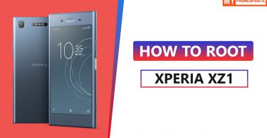 How To Root Sony Xperia XZ1