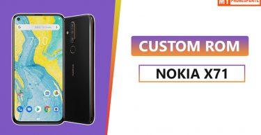Install Custom ROM On Nokia X71