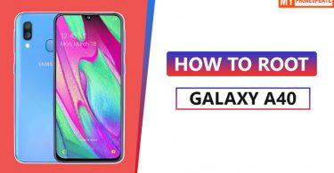 Root Samsung Galaxy A40