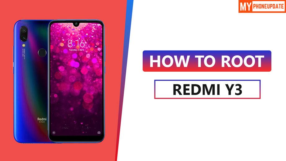 Root Xiaomi Redmi Y3