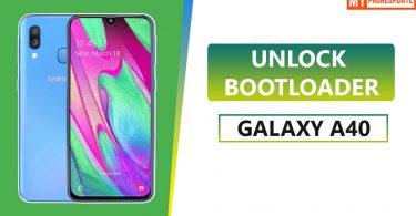 Unlock Bootloader Of Samsung Galaxy A40