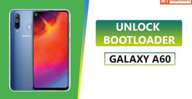 Unlock Bootloader Of Samsung Galaxy A60