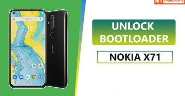 Unlock Bootloader On Nokia X71