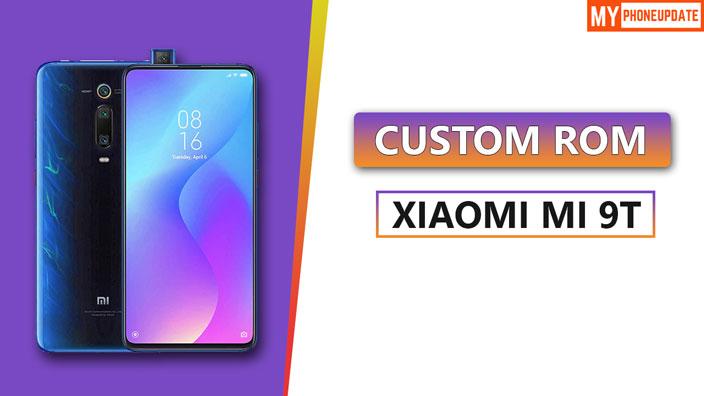 Install Custom ROM On Xiaomi Mi 9T