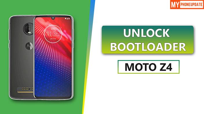 Unlock Bootloader Of Motorola Moto Z4