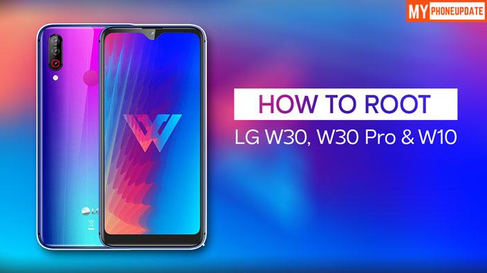 Root LG W30