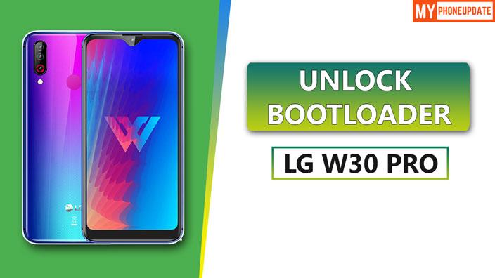 Unlock Bootloader Of LG W30 Pro
