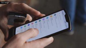 Motorola Razr: First Foldable Phone by Motorola