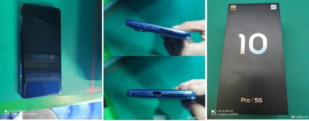 Xiaomi Mi 10 Pro 5G Leaked Images