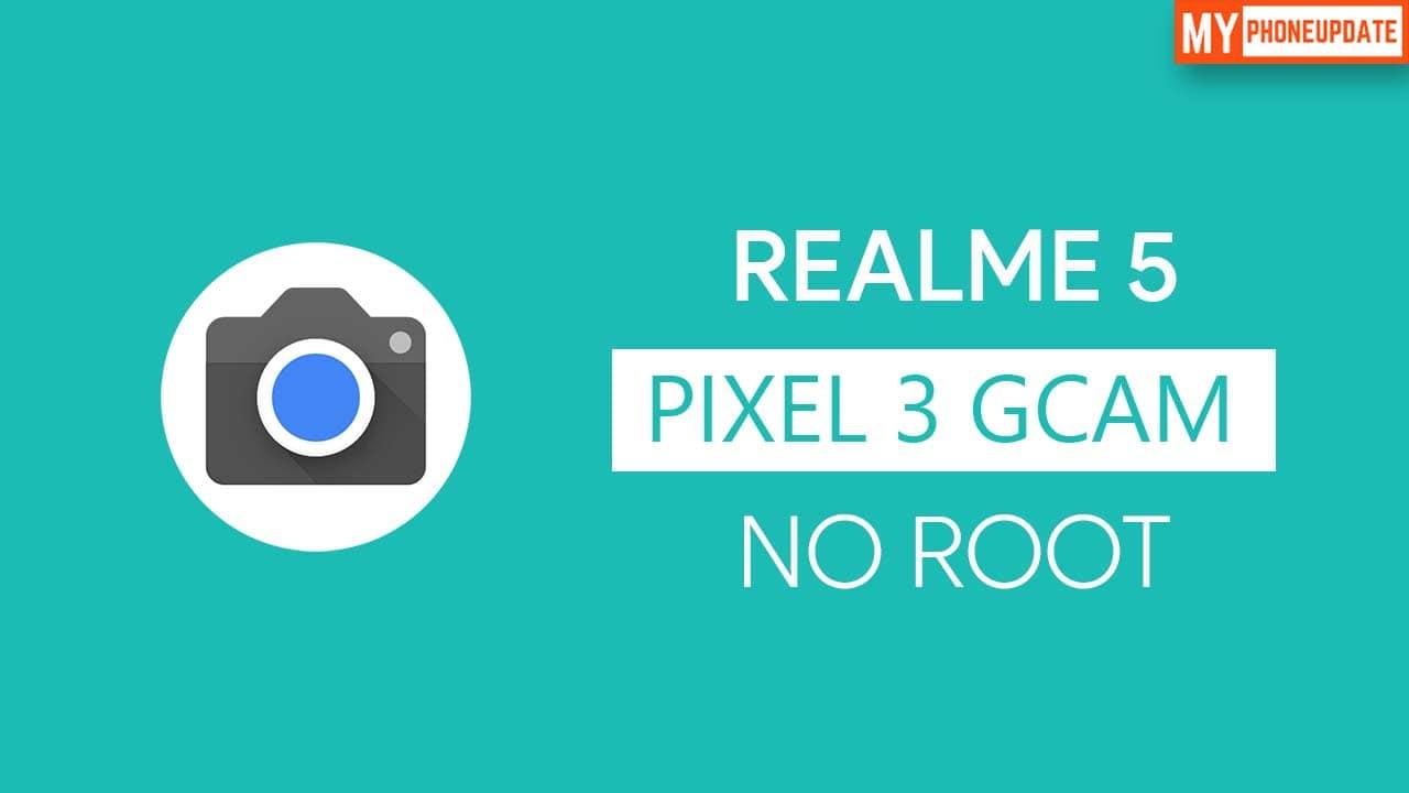 Install Google Camera On Realme 5